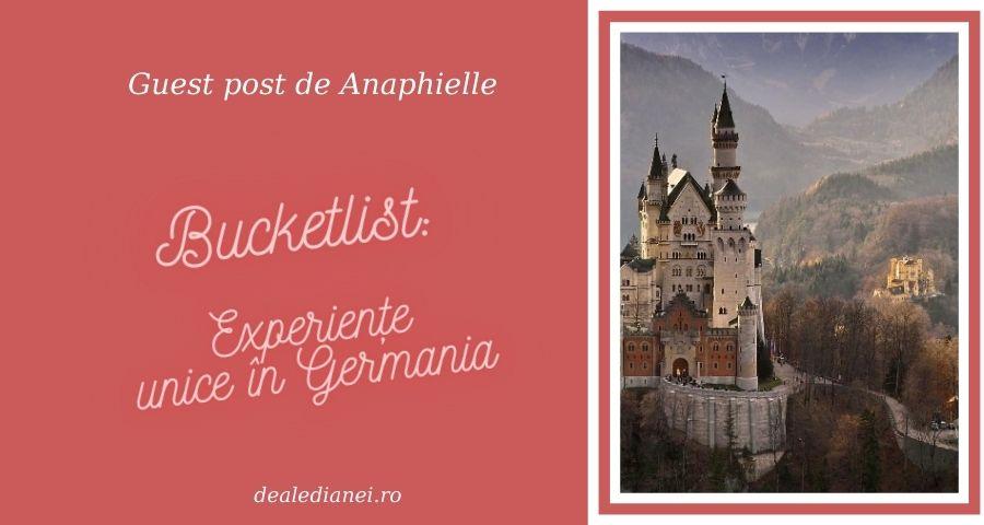 Experiențe unice în Germania