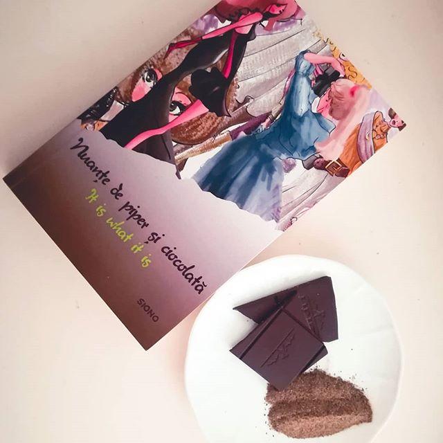 nuanțe de piper și ciocolată