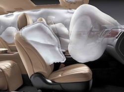 air bags and seat belts