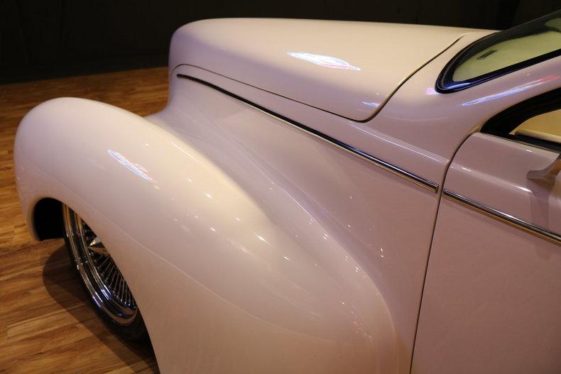 1939 Lincoln Zephyr Interior