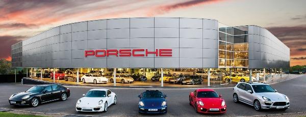 Porsche km 0
