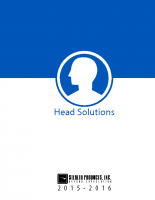 Head Solutions Catalog 2015-16