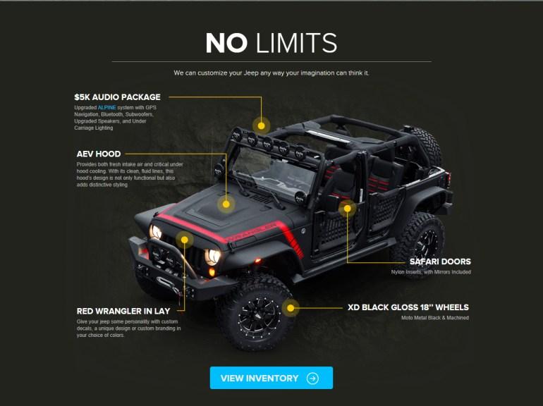 Used jeeps