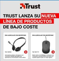 Trust linea de productos de bajo coste