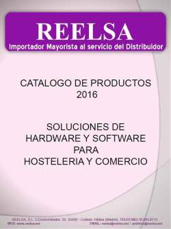 Reelsa Catalogo General TPVs
