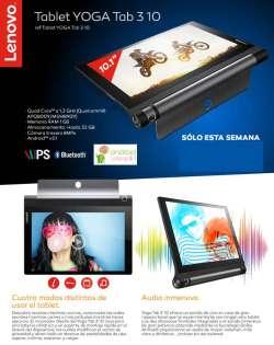 comprar tablet Lenovo Tab 3