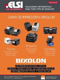 gama de impresoras bixolon
