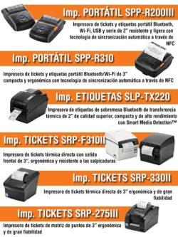 Bixolon impresoras de tickets portatiles