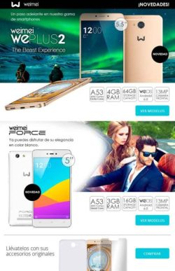 comprar smartphone weimei