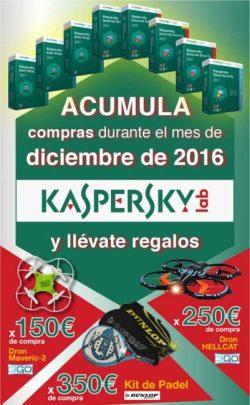 regalos con antivirus kaspersky