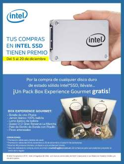 Intel Pack Box Experience gourmet