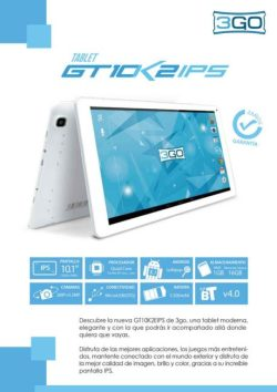 comprar tablet 3GO en dealermarket