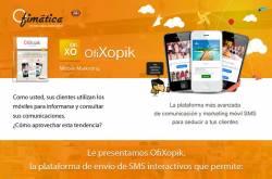 ofixopik envio sms