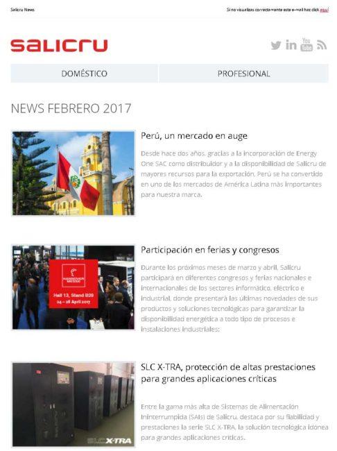 salicru newsletter