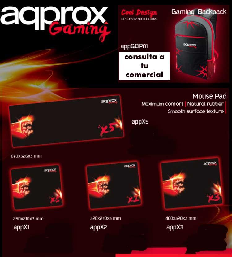 comprar backpad approx