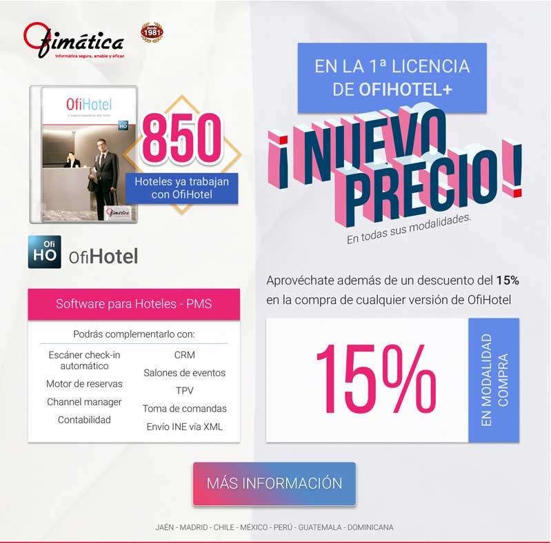 OfiHotel, software hotel