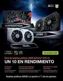 asus geforce gtx10
