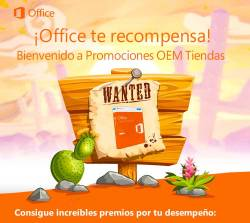 Office te recompensa
