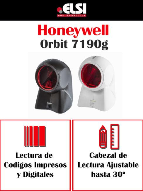 lector de códigos de barras Honeywell Orbit 7190g