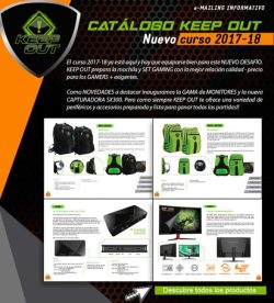 catalogo vuelta al cole keep out