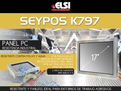seypos k797 metal panel pc 17""