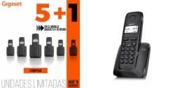 TELEF. INALAMBRICO DECT DIGITAL GIGASET A116 NEGRO