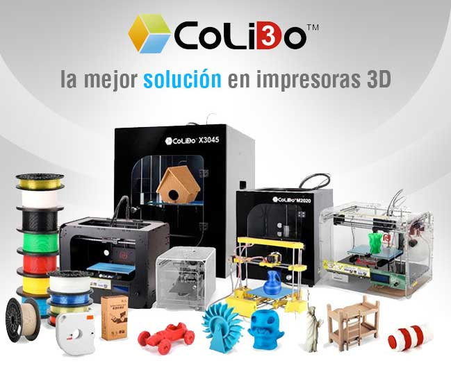 impresora 3d colido y dibuprint