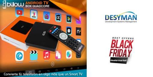 Convierte tu TV en algo más que un SmartTV con billow
