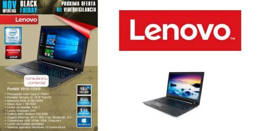 Black Friday desyman con Lenovo V510-15IKB