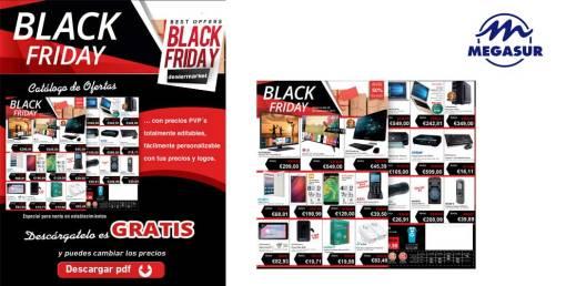 Catálogo de Ofertas Black Friday en Megasur