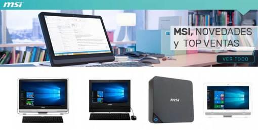top ventas MSI en globomatik