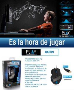 raton ewent gaming iluminado