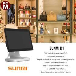 Terminal Android Compacto SUNMI D1