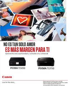 promocion canon pixma en megasur mayorista informatica