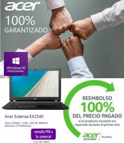 precio Portátil Acer Extensa EX2540