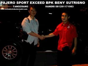 Pajero Sport EXCEED 2WD AT Pak BENI SUTRISNO TANGERANG