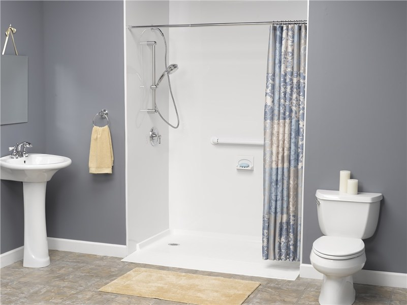 Barrier Free Showers   Wheelchair Accessible Showers   Handicap     Barrier Free Shower