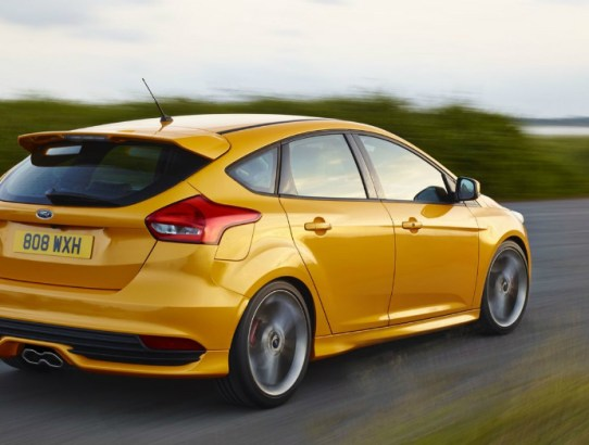 2015 Sporty Ford Focus