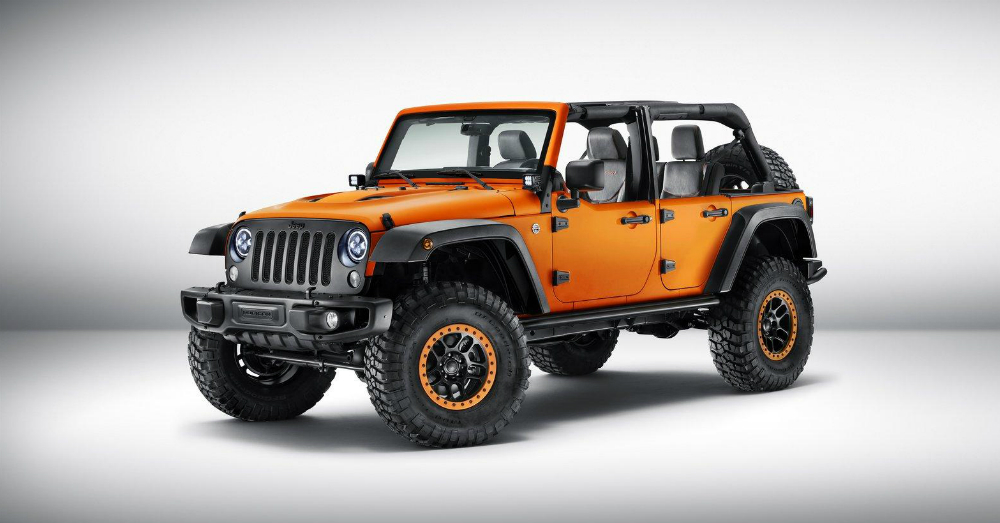 Jeep Wrangler Sunriser