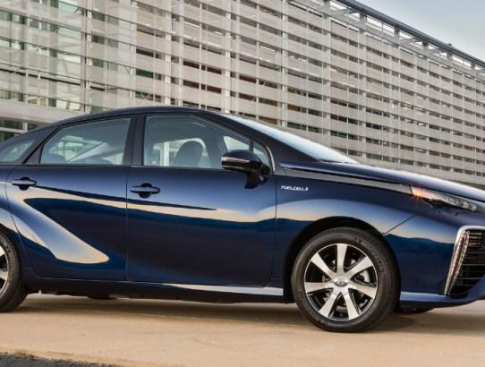 Toyota Blue Mirai