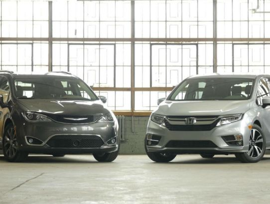 The Combination You Need; Chrysler Pacifica Compared to Honda Odyssey