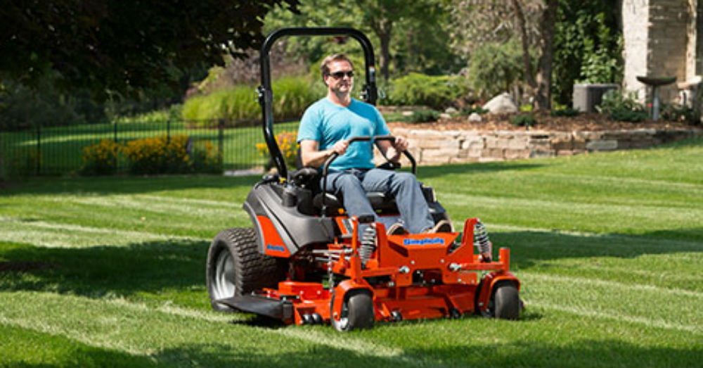 Get the Simplicity of a Zero Turn Mower - Dealer Rise