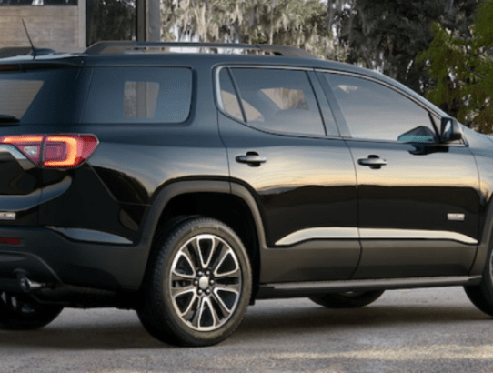 The GMC Acadia has the Size You Desire