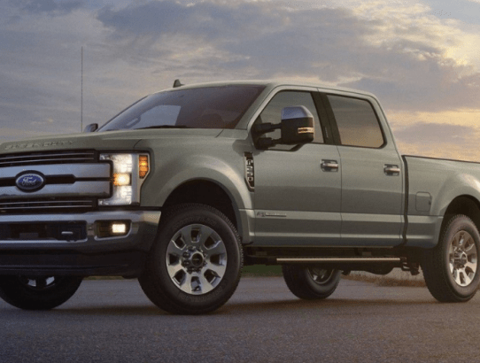 Let the Ford F-250 Get the Job Done