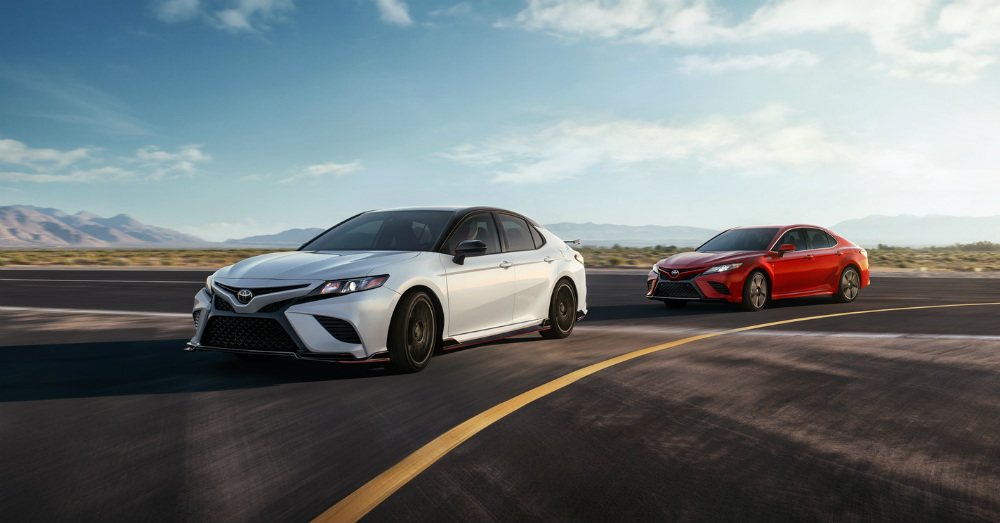 Sedan - The Toyota Camry is Ready
