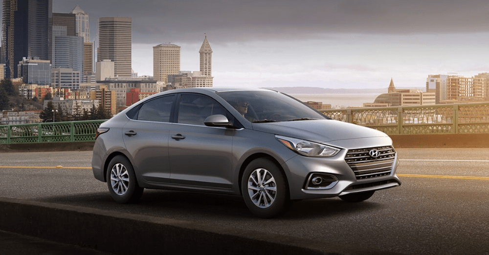 Drive Right in the Hyundai Accent