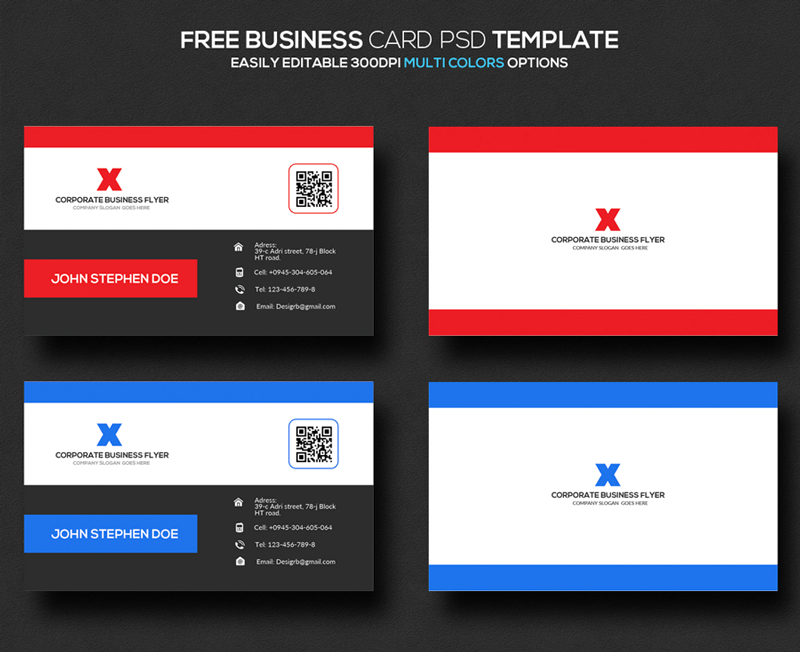 freebie resume amp business card psd templates