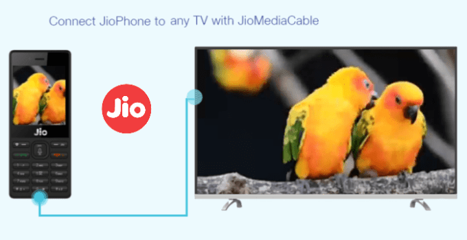 Jio media cable price, online booking