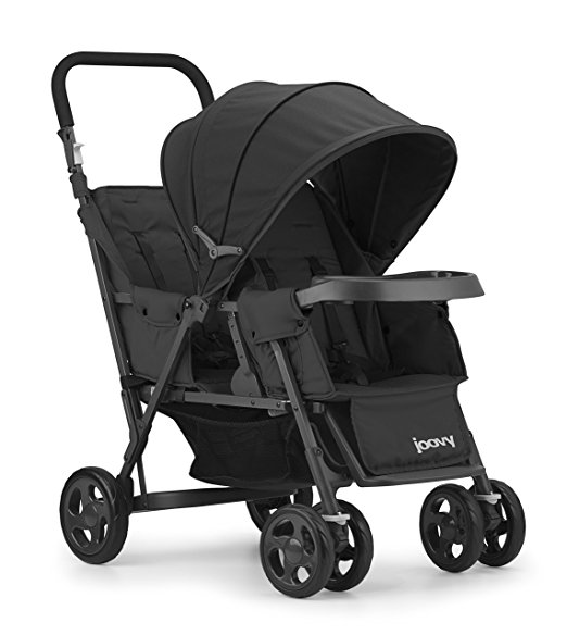 JOOVY Caboose Too Graphite Stand-On Tandem Stroller- Price Drop- $113.63 (was $179.99)