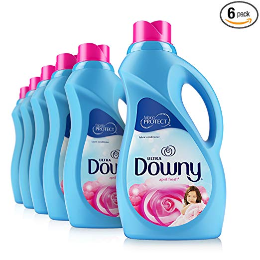 6-Pack Downy Ultra April Fresh Liquid Fabric Softener 40 Loads only $14.82 with subscribe and save!